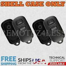 2 For 1998 1999 2000 2001 2002 2003 Toyota Sienna Remote Shell Case Key Cover