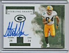 STERLING SHARPE 2019 PANINI IMPECCABLE VICTORY SIGNATURES AUTO #/49 SP PACKERS