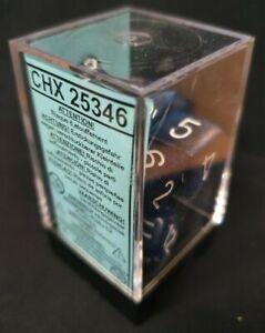 CHESSEX DICE: Speckled Stealth Dice Block (RPG SET - 7 Dice)