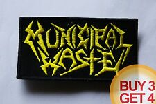MUNICIPAL WASTE YL PATCH,BUY3 GET4,SKELETONWITCH,EXODUS,NUCLEAR ASSAULT,VIOLATOR