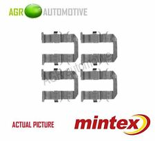 MINTEX REAR BRAKE PADS ACCESORY KIT SHIMS GENUINE OE QUALITY - MBA1758