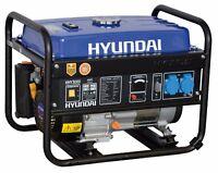 Generatore DI Corrente 2,8Kw Monofase 4 Tempi Benzina AVR Hyundai 65110