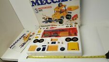 Meccano 3 Motorised set 07503 Construction Toys Vintage Collectables