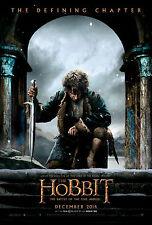 The Hobbit Battle Of Cinco Ejércitos DOBLE CARA ORIGINAL Cartel De Película