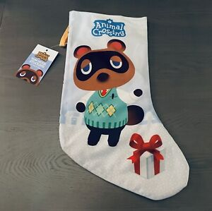 Animal Crossing Tom Nook Stocking - Christmas Holiday - Official Nintendo NEW