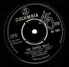 "GEOFF LOVE The Trapeze Waltz 7"" Single Vinyl Record 45rpm Columbia 1963 EX"