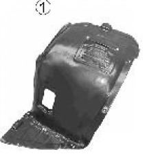 Verkleidung, Radhaus VAN WEZEL 0657433 Vorne links