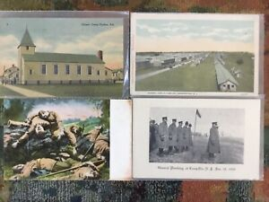 Five Military postcards