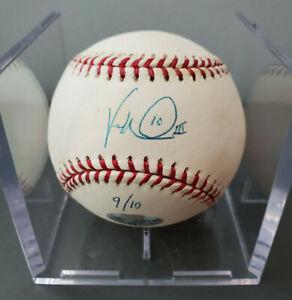 Vernon Wells III Signed Baseball - COA - Limited Inscription 1 of 10 - Blue Jays