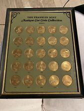 Franklin Mint Antique Car Coin Collection Series 1 Framed