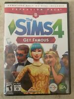 Brand New Sealed The Sims 4: Get Famous Expansion Pack Windows or MAC PC game
