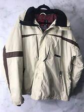 Liquid Boardwear Venture Series Mens XL Beige Snowboard Ski Jacket 2000 Outdoor