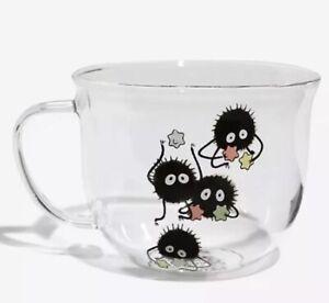 Studio Ghibli Spirited Away Soot Sprite 10oz. Glass Mug
