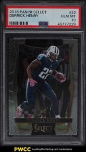 2016 Select Concourse Derrick Henry ROOKIE RC #22 PSA 10 GEM MINT