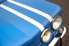 Stickers autocollants bandes complètes Renault Gordini R8+notice d'pose+1sticker