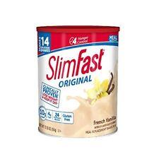 SlimFast – Original Meal Replacement Shake Mix Powder – Weight Loss Shake – 10g