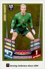 2012-13 Match Attax Legend Foil Card #465 Joe Hart (Man City Manchester)