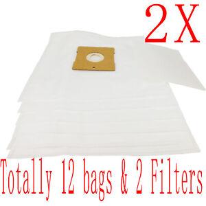 12X Bag + 2 Fitler For Hoover Mode V076 Eyre 5006PH H4526 Action Pets 5007PH NEW