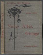 NÎMES ARLES Orange Saint-Rémy Abbaye de Montmajour par Roger PEYRE Gravures 1929