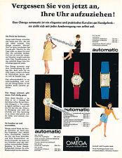 Omega-AUTOMATIC - 1967-pubblicità con loghi pubblicità-Genuine Advertising-NL-commercio di spedizione