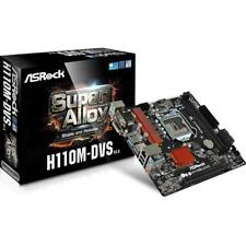 Placa base 1151 ASRock H110m-dvs Matx-2ddr4-usb 3.0