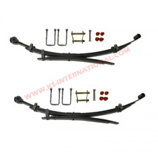 Pair of Rear Leaf Springs With Kits For Mitsubishi L200 B40 2.5TD 06-15 (4+2)