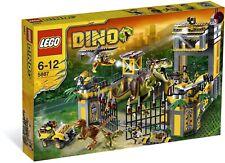LEGO 5887 Dino Defense Incomplete *HAS* All Dinos & Minifigs + Bonus 5884