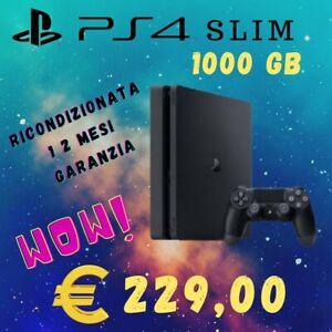 PlayStation 4  SLIM  1000 Gb