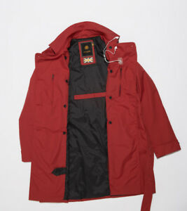 Armadillo Scooterwear ScarlettMac Ladies M/cycleScooter Jacket NEW - Red XLarge