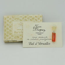 Vintage Jean Desprez Bal a Versailles 1ml perfume vial