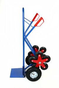 Sackkarre/Treppensackkarre 200Kg Stahl mit 5 Sternformigen Rädern