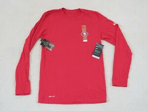 Nike Authentic NFL SAN FRANCISCO 49ERS On Field L/S Shirt Men S New Sweet!