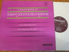 AL 3525 Debussy / Bartok Violin Sonatas / Szigeti / Bartok P/S