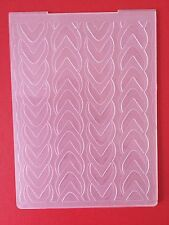 SALE• CABLE KNIT EMBOSSING FOLDER For Cuttlebug Or Sizzix