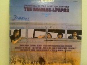 THE  MAMAS &  THE  PAPAS     LP      FAREWELL  TO  THE  FIRST  GOLDEN  ERA