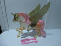 RARE SHE RA PRINCESS OF POWER MOTU FRANCE CRYSTAL SWIFTWIND HORSE MATTEL 1985