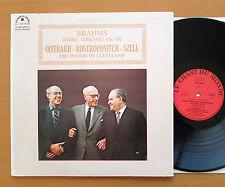 Brahms Double Concerto Oistrakh Rostropovitch Szell Le Chant Du Monde LDX 78 495
