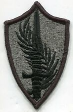 US Army Central Command ACU Patch Black & Grey