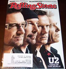 U2 TAKE ON THE WORLD ISSUE 1221 NOVEMBER 6, 2014 ROLLING STONE MAGAZINE
