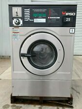 Ipso Front Load Stainless Steel Washer Coin Op 25Lb, S/N: 08040Ew0145 [Refurb]