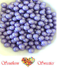 400g PEARLY PURPLE LAVENDER SIXLETS CANDY BALLS LOLLIES BULK CANDY GLUTEN FREE