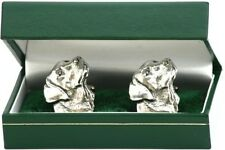 Labrador Head  Pewter cufflinks shooting gundog gift