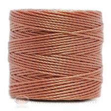 77 Yds. Super-Lon Cord #18 Rose Purple Beading Crafting Stringing Crochet