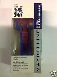 Maybelline Expert Eyes Plastic Eyelash Curler Purple Color New In Box.