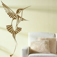 Humming Bird Wall Sticker Decal Art Transfers Graphic Stencil Vinyl Home bn20