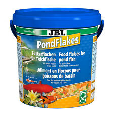 JBL Pond Flakes 10,5L - étang Doublure de flocon Nourriture pour poisson l'étang
