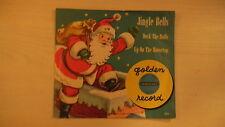 Little GoldenYellow Record JINGLE BELLS Deck The Halls 78rpm 1950