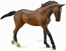 CollectA 88634 Bay Thoroughbred Race Horse Model 1:12 Toy Replica - NIP
