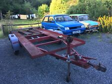 Twin Axle Car Transporter Trailer Race Rally 4x4 Recovery