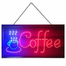 Boshen Bright Coffee Cup Sign Led Neon Light Animated Motion Cafe Business Sign